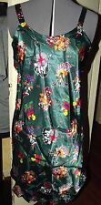 WOMENS~ SIZE MEDIUM LOONY TUNES TWEETY SYLVESTER TAZ NIGHT SLEEPWEAR PAJAMA GOWN