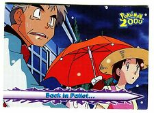 POKEMON English TOPPS 2000 CARD little Used # 21 BACK IN PALLET