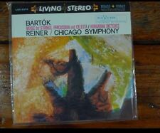 Classic Records LP 1rst Edition lsc2374 Bartok Music for Strings Reiner Chi. Sym