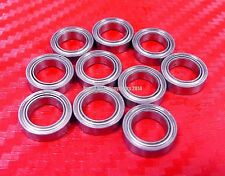 "[QTY 5] SR3ZZ (3/16"" X 1/2"" X 0.1960"") 440c Stainless Steel Ball Bearing R3ZZ"