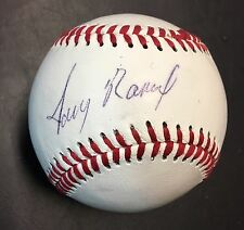 "JERRY ""The Sage"" MANUEL Autographed Signed Baseball EXPOS METS TIGERS SOX COA"
