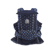 NWT Baby House baby carrier chunei in mesh denim pattern - like a Korean podegi