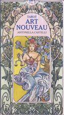 NEW Tarot Art Nouveau Deck Cards Lo Scarabeo