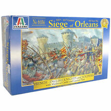 Italeri Siege of Orleans French and English Knights and soldiers Figure Kit 1/72