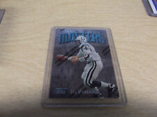 JIM HARBAUGH 1997 TOPPS FINEST #322 UNCOMMON SILVER COLTS