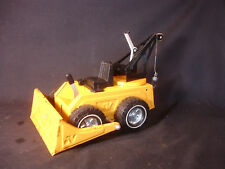 Old Vtg Pressed Steel Nylint Bulldozer Crane Construction Toy Truck