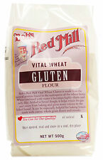 Bob's Red Mill Vital Wheat Gluten Flour 500g *High Protein Quality Flour*