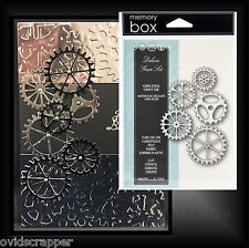 Memory Box Dies DELUXE GEAR SET metal die cutting set 98964 All Occasion
