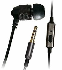 """Far End Gear Short Buds 22"""" Cord Single In-Ear Stereo-to-Mono Earbud + Mic for a"""