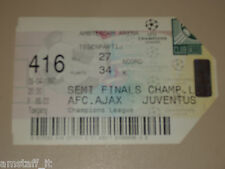 AJAX HOLLAND JUVENTUS BIGLIETTO TICKET 96/97 CL