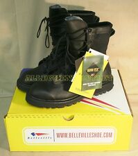 US Military WATERPROOF Black GORETEX ICB COMBAT Hunting BOOTS NIB USA MADE 15 N