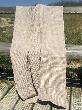 Serviette serviette sauna stonewashed sable 110x160 CM LIN waffelpique trend
