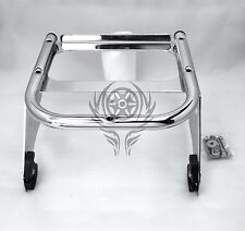 Detachable Solo Tour Pak Rack for 97-08 Harley Touring FLHT FLHX FLHR