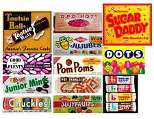 VINTAGE CANDY ADS PHOTO-FRIDG MAGNETS