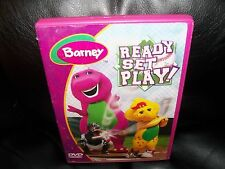 """Barney - Ready Set Play (DVD, 2004) Includes """"Play It Safe""""  Episode"""