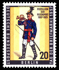 EBS West Berlin 1957 Stamp Day - Tag der Briefmarke Michel 176 MNH**