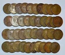 MEXICO lot CINCO CENTAVOS vintage world A foreign Mexican brass 40 COINS