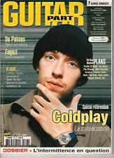 """GUITAR PART #106 """"Coldplay,De Palmas,Fugazi,Frandol,Lofofora"""" (REVUE)"""