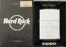 Hard Rock Cafe ORLANDO Chrome Silver ZIPPO Lighter Mint New Box Sealed Sticker