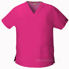 Dickies Scrubs Shirts Women EDS V-neck Top pockets 86706 Medical Uniforms Shirt