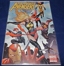 Marvel Comics THE MIGHTY AVENGERS #1 2nd Printing Frank Cho Variant Cover NM