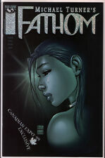 Michael Turner 's Fathom Vol 1 #8 Canadian Expo '99 Exclusive Foil Variant Aspen