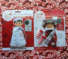 WHITE WINTER VEST & 2015 POLAR PATTERN ELF SET Elf on the Shelf Claus Couture
