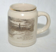 "Vintage Ceramic Mug ""The Mill by the Dam Site at Night  Flint Michigan"""