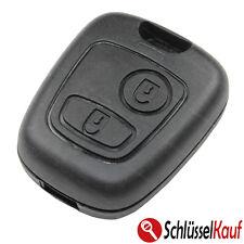 Peugeot Autoschlüssel 2 Tasten Gehäuse Funkschlüssel 106 206 207 306 307 806 Neu