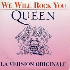 CD Single Queen We will rock you 2-track CARD SLEEVE La version originale + RARE