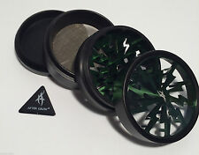 Thorinder Grinder 62mm Green supplied with the After Grow Anticounterfeit Sticke