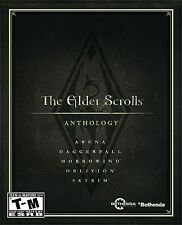 The Elder Scrolls: Anthology [PC-DVD Computer, 5 Full Games, Open World RPG] NEW