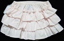 HAND EMBROIDERED NEWBORN GIRLS PINK BATISTE RUFFLED DIAPER COVER~NWT'S