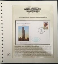 USA 1992 FDC Post office in tallest office building world Weltsammlung der Rekor