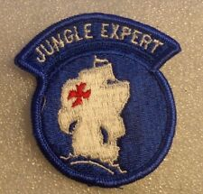 ARMY PATCH,SSI, JOTC, JUNGLE EXPERT GRADUATE PATCH. COLOR