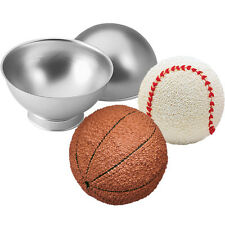 New Wilton Sports Ball Pan Set 3D Baseball Soccer Basketball Golf Tennis