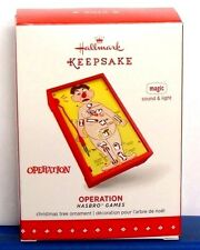 Hallmark 2015 Operation Hasbro Games Christmas Ornament Light Sound Store Model