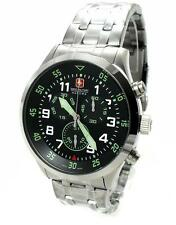 Swiss Military Hanowa 06-5263.04.007.06 chronograph acero inoxidable swiss made Wow nuevo