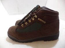 Timberland Field Boot ( Big Kid ) Logo Patch Size 4.5 Color Brown, Olive & Brown