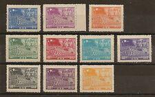 CHINA PRC SW Sc#8L1//11 1949 PLA, Mao & Ju De , MNH. MLH. NGAI. Short Set.