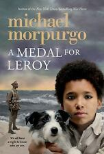 A Medal for Leroy by Michael M.B.E .. NEW Morpurgo Paperback Book (English) Free