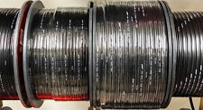50' Stinger 16 Gauge AWG Black Speaker Wire Copper OFC Cable Home Car SPW516BK