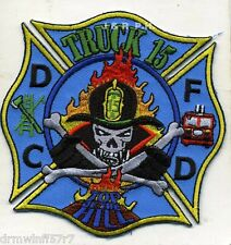 """Washington D.C.  Truck-15  """"Top of the Hill""""  (4"""" x 4"""" size) fire patch"""