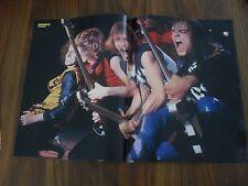 BRAVO Poster von den Scorpions aus Heft 18/1982