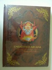 1st 1E unearthed arcana book AD&D RPG premium edition shrink wrapped gary gygax