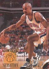 1995-96 Fleer Grant Hill ROOKIE SENSATIONS Card #211