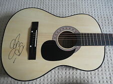 JENNY LEWIS SIGNED AUTOGRAPHED F/S ACOUSTIC GUITAR THE VOYAGER COA GA SEXY RARE!