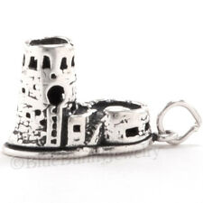 3D WATCH TOWER GRAND CANYON Arizona Travel Charm Pendant 925 STERLING SILVER