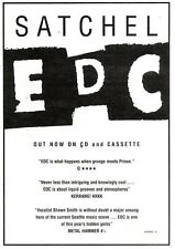 """NEWSPAPER CLIPPING/ADVERT 17/9/94PGN27 7X5"""" SATCHELL : EDC"""