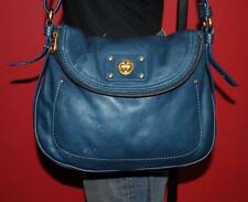 MARC BY MARC JACOBS 'TOTALLY TURNLOCK - NATASHA'' Leather Teal Hobo Purse Bag